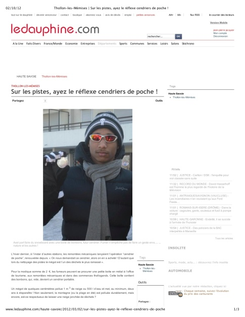 2013 02 23 Thollon-les-Mémises mégots