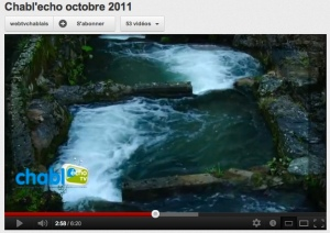 voir le reportage sur le contrat de rivières du Chablais
