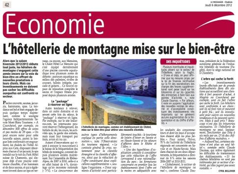 2012 12 07 Hôtellerie de montagne