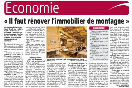2012 12 27 immobilier de montagne