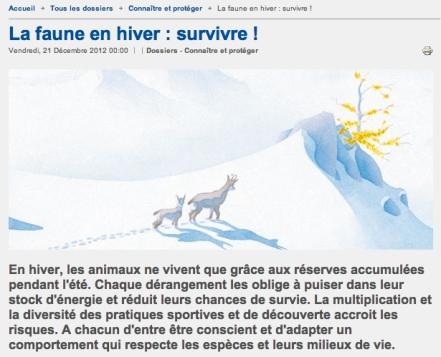 2013 01 22 survivre