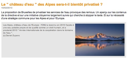 2013 03 13 privatisation de l'eau
