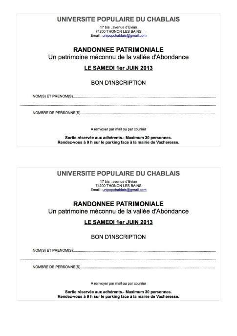 2013 05 08 réservation sortie 1er juin 2013