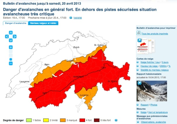 2013 04 19 bulletin suisse avalanche